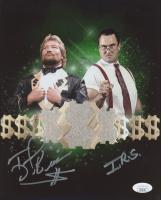 Ted DiBiase & I.R.S. Signed WWE 8x10 Photo (JSA COA) at PristineAuction.com