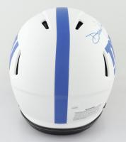 Daniel Jones Signed Giants Full-Size Authentic On-Field Lunar Eclipse Alternate Speed Helmet (JSA COA) (See Description) at PristineAuction.com
