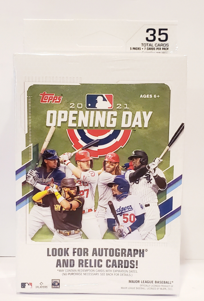 2021 Topps Opening Day Baseball Hanger Box at PristineAuction.com