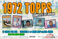 """1972 TOPPS FOOTBALL COMPLETE SET BREAK"""" Mystery BOX– 12 CARDS PER BOX at PristineAuction.com"""