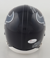 Lamar Miller Signed Texans Mini-Helmet (JSA COA) at PristineAuction.com