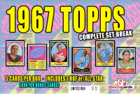 """""""1967 TOPPS FOOTBALL COMPLETE SET BREAK"""" Mystery BOX– 5 CARDS PER BOX at PristineAuction.com"""