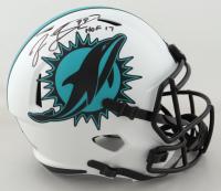 "Jason Taylor Signed Dolphins Full-Size Lunar Eclipse Alternate Speed Helmet Inscribed ""HOF 17"" (Beckett Hologram) at PristineAuction.com"