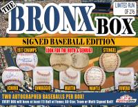 """The Bronx Box"" MYSTERY BOX – (2) NY YANKEES Autographed Baseballs Per Box! RUTH/GEHRIG at PristineAuction.com"