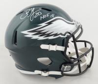 "Brian Dawkins Signed Eagles Speed Helmet Inscribed ""HOF 18"" (Beckett Hologram) at PristineAuction.com"