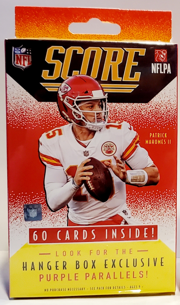 2021 Panini Score NFL Football Trading Cards Hanger Box at PristineAuction.com
