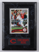 Jay Bruce Signed 2011 Topps #191 Plaque Display (MLB Hologram) at PristineAuction.com
