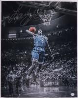 Larry Johnson Signed Hornets 16x20 Photo (PSA COA) (See Description) at PristineAuction.com