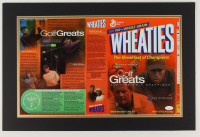Jack Nicklaus Signed 16x24 Custom Matted Wheaties Box Display (JSA COA) at PristineAuction.com