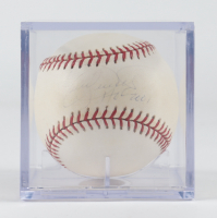 """Kirby Puckett Signed OAL Baseball With Display Case Inscribed """"HOF 2001"""" (Steiner Hologram) (See Description) at PristineAuction.com"""