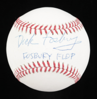 "Dick Fosbury Signed OML Baseball Inscribed ""Fosbury Flop"" (Beckett COA) at PristineAuction.com"