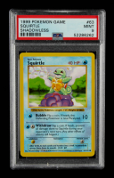Squirtle 1999 Pokemon Base Unlimited #63 (PSA 9) at PristineAuction.com