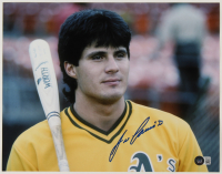 Jose Canseco Signed Athletics 11x14 Photo (Beckett COA) at PristineAuction.com