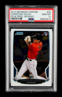 Christian Yelich 2013 Bowman Chrome Draft #40 RC (PSA 10) at PristineAuction.com