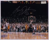 Larry Johnson Signed Knicks 16x20 Photo (PSA COA) (See Description) at PristineAuction.com