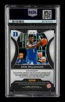 Zion Williamson 2019-20 Panini Prizm Draft Picks #64 RC (PSA 10) at PristineAuction.com
