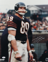 """Mike Ditka Signed Bears 16x20 Photo Inscribed """"H.O.F. 88"""" (PSA Hologram) at PristineAuction.com"""