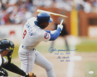 "Andre Dawson Signed Cubs 16x20 Photo Inscribed ""1987 N.L. MVP"", ""The Hawk"" & ""HOF 2010"" (JSA Hologram) at PristineAuction.com"