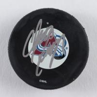 Chris Dingman Signed Avalanche Logo Hockey Puck (JSA COA) at PristineAuction.com