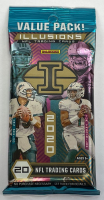 2020 Panini Illusions Football Value Pack with (20) Cards at PristineAuction.com