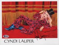 Cyndi Lauper Signed 8x10 Photo (Beckett COA) at PristineAuction.com