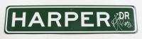 """Bryce Harper Signed 4x18 """"Harper Dr"""" Street Sign (JSA COA) at PristineAuction.com"""