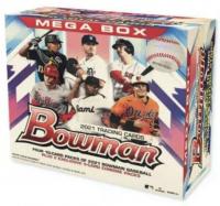 2021 Bowman Baseball Mega Box with (50) Cards at PristineAuction.com