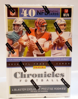 2020 Panini Chronicles Football Blaster Box with (8) Packs at PristineAuction.com