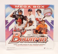 2021 Bowman Baseball Mega Box of (50) Cards at PristineAuction.com