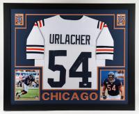 Brian Urlacher Signed 35x43 Custom Framed Jersey Display (Beckett Hologram) at PristineAuction.com