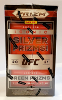 2021 Panini Prizm UFC Prizm DEBUT EDITION Trading Cards Blaster Box With (6) Packs at PristineAuction.com