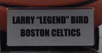Larry Bird Signed NBA Basketball with Display Case (PSA COA & Bird Hologram) at PristineAuction.com