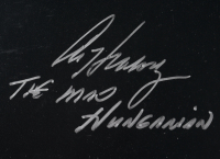 """""""Magic Monikers"""" 16x20 Photo Signed by (19) with Jack Clark, Darryl Dawkins, Howard Johnson, Luis Tiant with Multiple Nickname Inscriptions (PSA Hologram) at PristineAuction.com"""