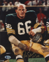 """Ray Nitschke Signed Packers 8x10 Photo Inscribed """"HOF 1978"""" (Beckett COA) at PristineAuction.com"""