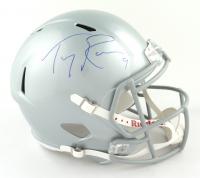 Tony Romo Signed Cowboys Full-Size Speed Helmet (JSA COA) at PristineAuction.com