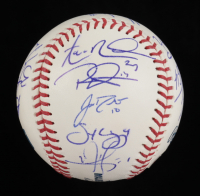 2019 Philadelphia Phillies OML Baseball Team-Signed by (15) with Aaron Nola, Rhys Hoskins, JT Realmuto, Andrew McCutchen (Beckett LOA) at PristineAuction.com
