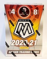 2020-21 Panini Mosaic LaLiga Santander Soccer Blaster Box at PristineAuction.com