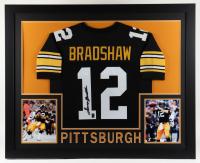 Terry Bradshaw Signed 35x43 Custom Framed Jersey Display (JSA Hologram & Bradshaw Hologram) at PristineAuction.com
