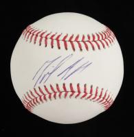 Miguel Andujar Signed OML Baseball (Steiner Hologram) at PristineAuction.com