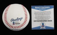 Adbert Alzolay Signed OML Baseball (Beckett COA) at PristineAuction.com