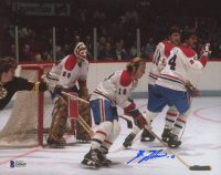 Guy Lafleur Signed Canadiens 8x10 Photo (Beckett COA) at PristineAuction.com