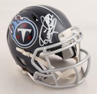 Derrick Henry Signed Tennessee Titans Mini Speed Helmet (Fanatics Hologram & Henry Hologram) at PristineAuction.com