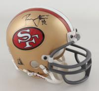 Ronnie Lott Signed 49ers Mini Helmet (Beckett COA) (See Description) at PristineAuction.com