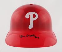 Lenny Dykstra Signed Phillies Full-Size Batting Helmet (Beckett Hologram) at PristineAuction.com