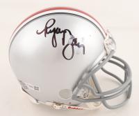Ryan Day Signed Ohio State Buckeyes Mini Speed Helmet (Fanatics Hologram) (See Description) at PristineAuction.com