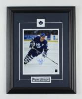 Doug Gilmour Signed Maple Leafs 15.5x19.5 Custom Framed Photo Display (COJO COA) at PristineAuction.com