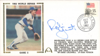 Robin Yount Signed 1982 World Series Ticket Envelope (JSA COA) at PristineAuction.com