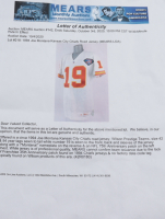 """Joe Montana Signed Chiefs 1994 Road Jersey Inscribed """"Hail to the Chiefs!"""" & """"HOF 2000"""" (Beckett COA) (See Description) at PristineAuction.com"""