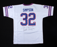 "O. J. Simpson Signed Jersey Inscribed ""Bills Mafia"" (JSA COA) at PristineAuction.com"