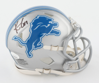 Kenny Golladay Signed Lions Speed Mini Helmet (JSA COA) at PristineAuction.com